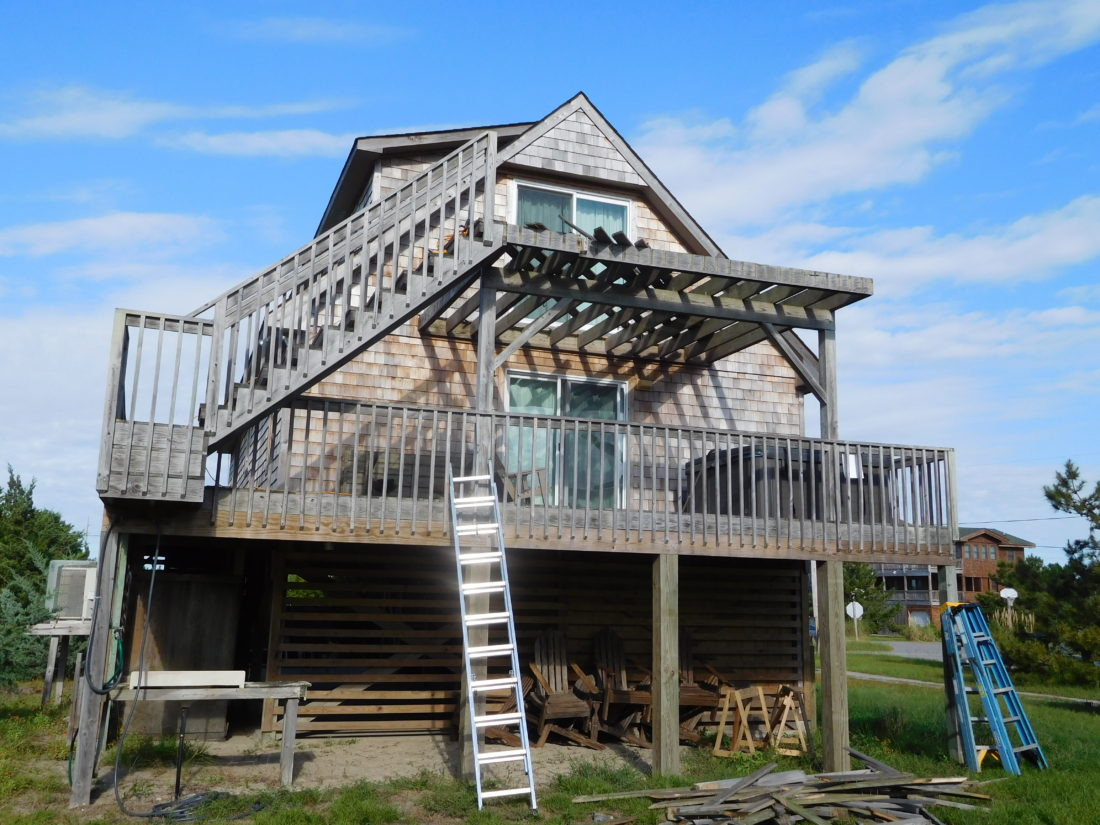 Salvo New Deck Addition Waterproof Balcony Screened
