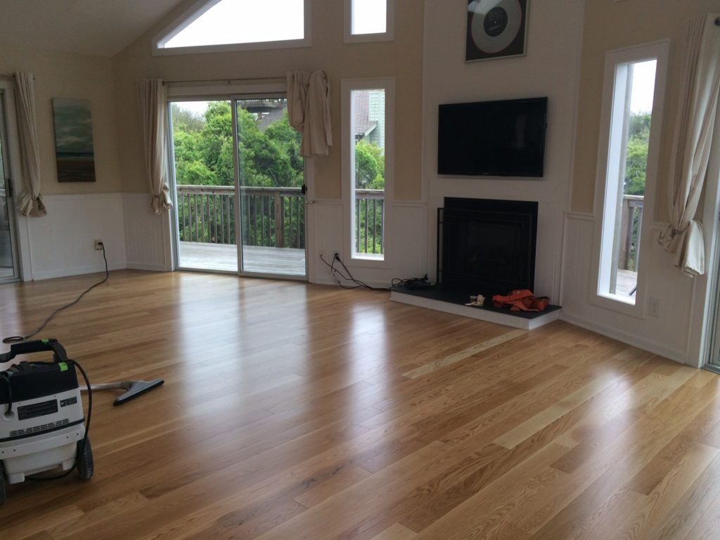 Cole wood floors after